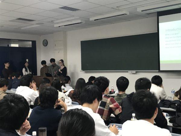 日本大学・専修大学とインゼミを行いました